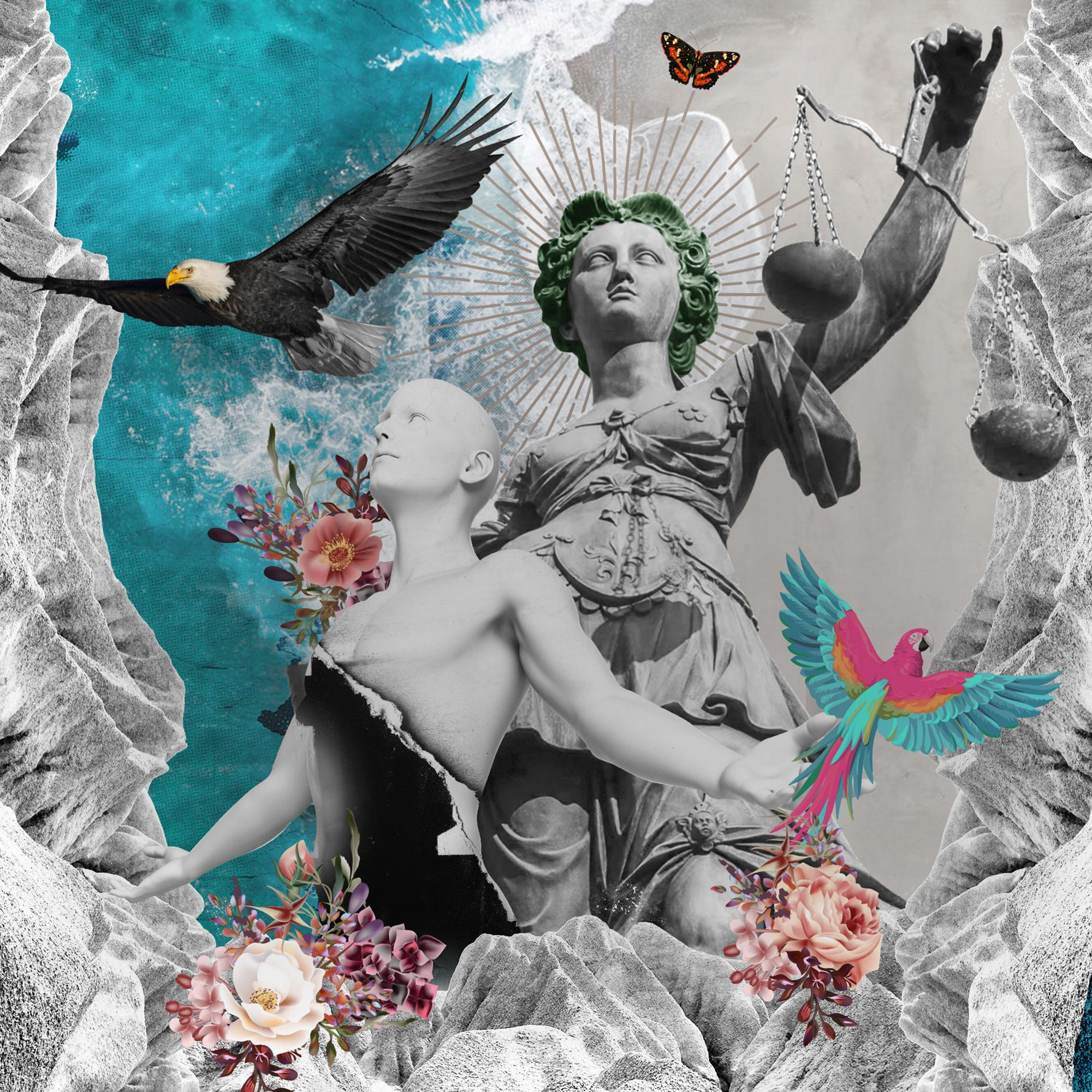 vibrant creative artwork